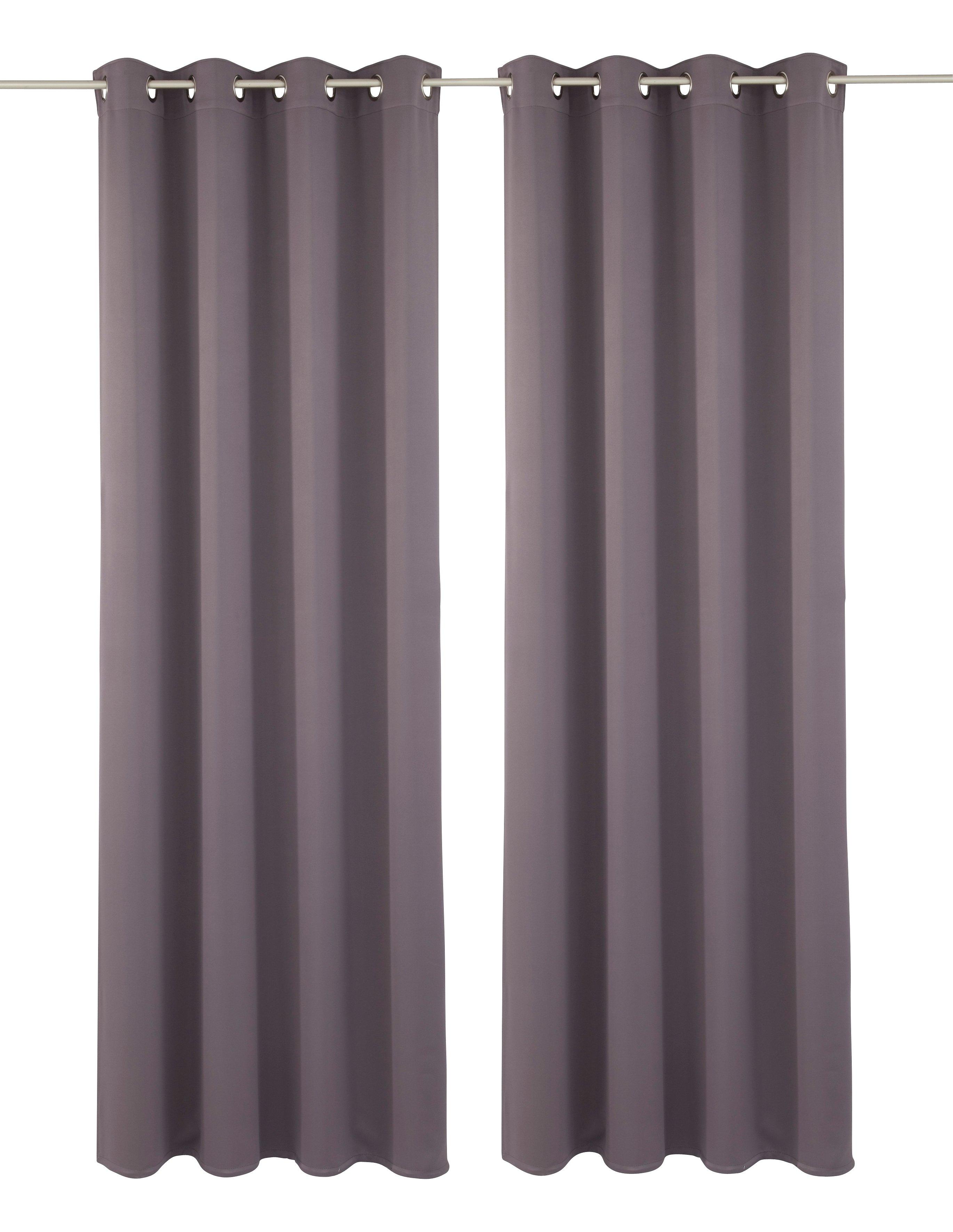 my home Verduisteringsgordijn Solana Breedte 140 cm (2 stuks) nu online bestellen