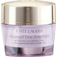 estée lauder nachtcrème advanced time zone night creme anti-aging paars
