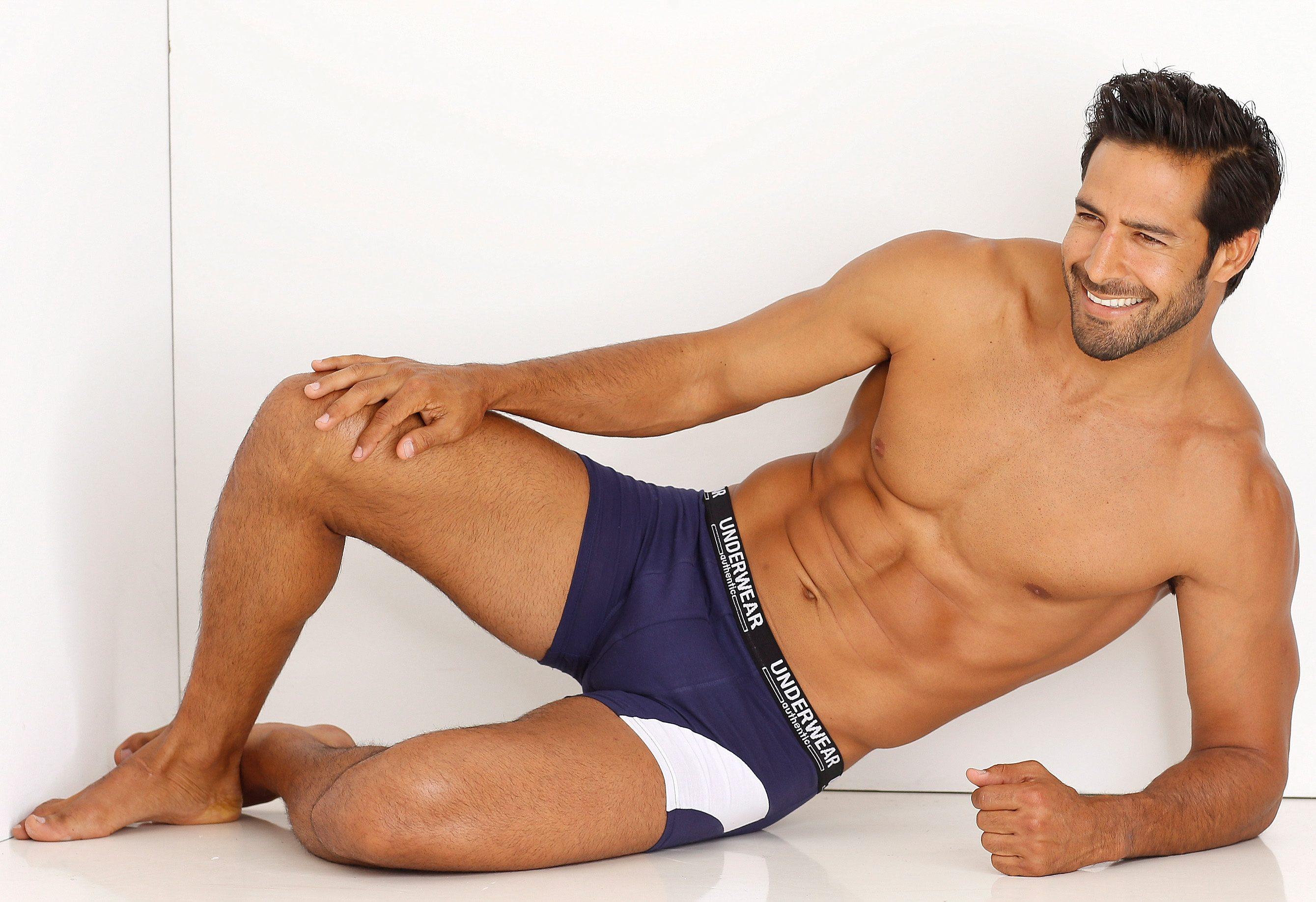 Authentic Underwear Le Jogger boxershort (set van 4), met contrastkleurige inzet makkelijk gevonden