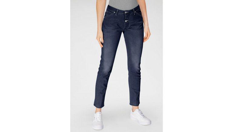 Please Jeans boyfriendjeans P 06D met markante 2 knoopsluiting