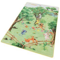 die lieben sieben vloerkleed voor de kinderkamer ls-205 kinderkamer groen