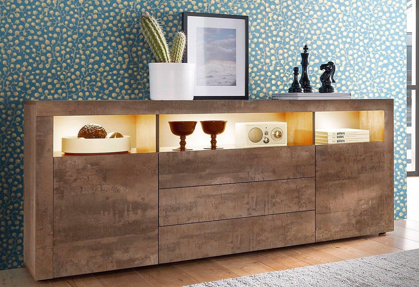 Borchardt Möbel Sideboard breedte 166 cm voordelig en veilig online kopen