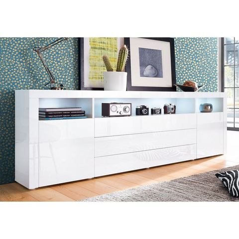Dressoirs Sideboard 200 cm breed met 3 laden 561122