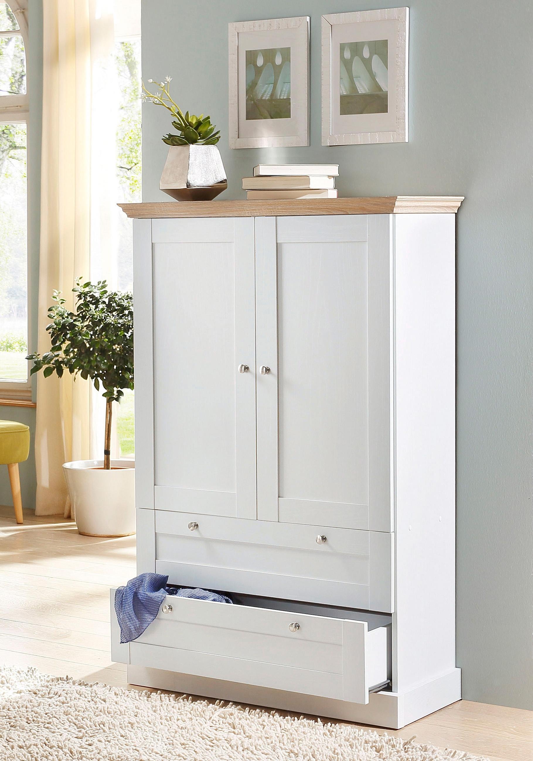 home affaire linnenkast binz 2 deurs makkelijk gekocht otto. Black Bedroom Furniture Sets. Home Design Ideas