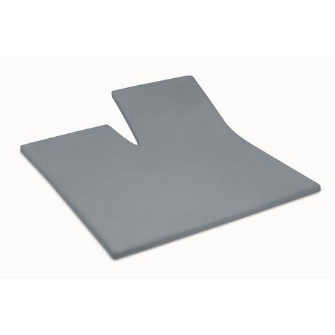 Split Topper Hoeslaken Damai Grey 8 cm (Katoen)
