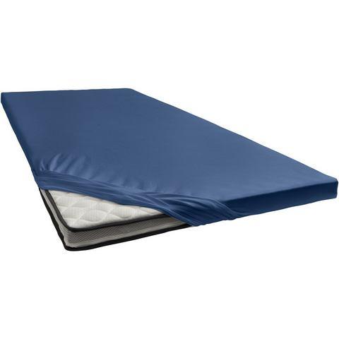 Topper Hoeslaken Damai 8 cm Dark Blue (Katoen)
