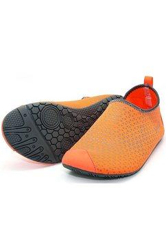 ballop barefoot-schoenen, »spider orange« oranje