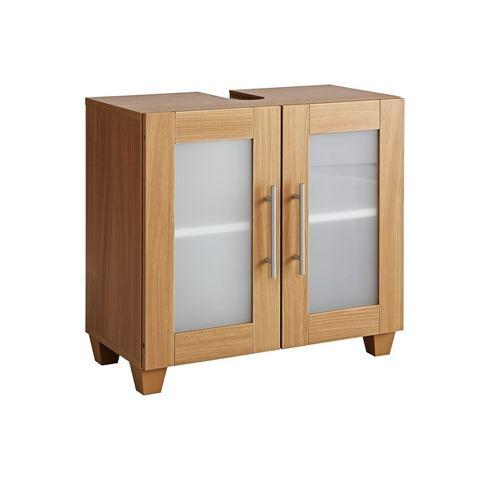 Wastafelonderkast beige badkamer onderkast 17