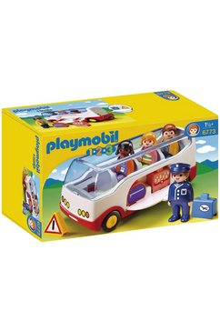 playmobil constructie-speelset touringcar (6773), playmobil 1-2-3 gemaakt in europa multicolor