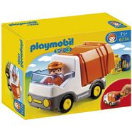 playmobil constructie-speelset vuilniswagen (6774), playmobil 1-2-3 gemaakt in europa multicolor