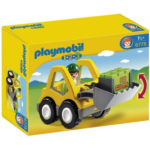 PLAYMOBIL® Graafmachine 6775 Playmobil 1-2-3
