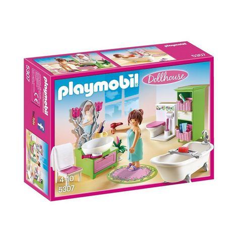 Playmobil Dollhouse Badkamer met bad op pootjes 5307