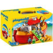 playmobil constructie-speelset mijn meeneem-ark van noach (6765), playmobil 1-2-3 gemaakt in europa multicolor