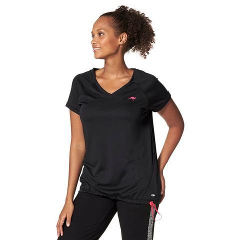 NU 15% KORTING: KANGAROOS Functioneel T-shirt met V-hals