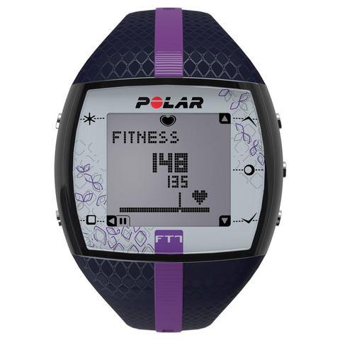 Polar fitness-hartslagmeter, »FT7 Blue Lila«, inclusief borstband