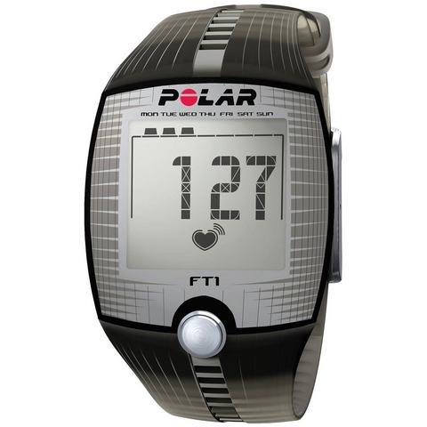 Polar fitness-hartslagmeter, »FT1 Transparent Black«, incl. borstband