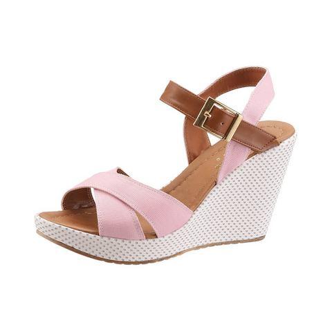 Dames schoen: ANDREA CONTI Sandaaltjes met 9 cm hoge hak