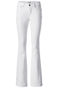 corrigerende jeans wit