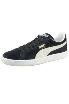 puma sneakers suede classic+ zwart
