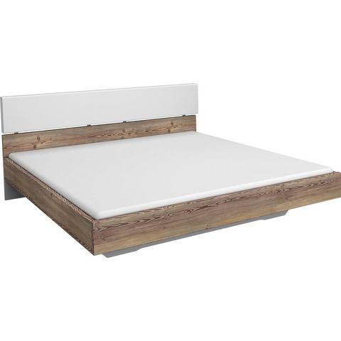 RAUCH Bed met zacht verdikt hoofdbord 180x200 cm wit Inosign 277115