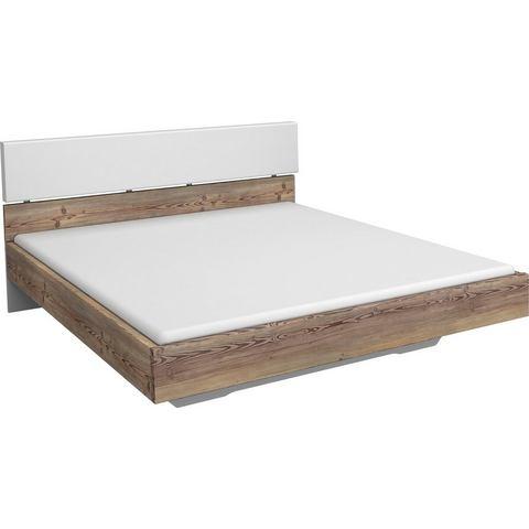 RAUCH Bed met zacht verdikt hoofdbord 160x200 cm wit Inosign 839960