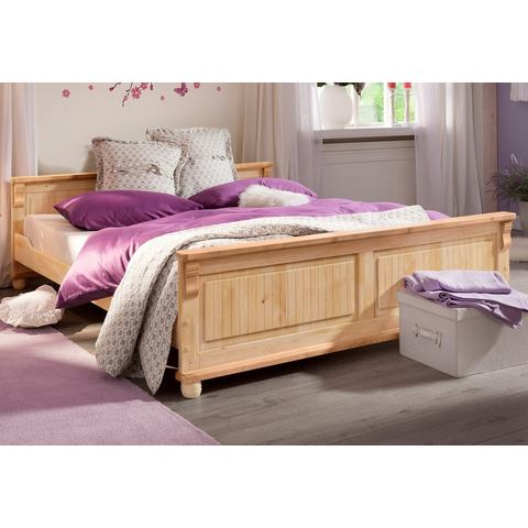 HOME AFFAIRE Bed Adele geloogd/geolied beige Home Affaire 619590