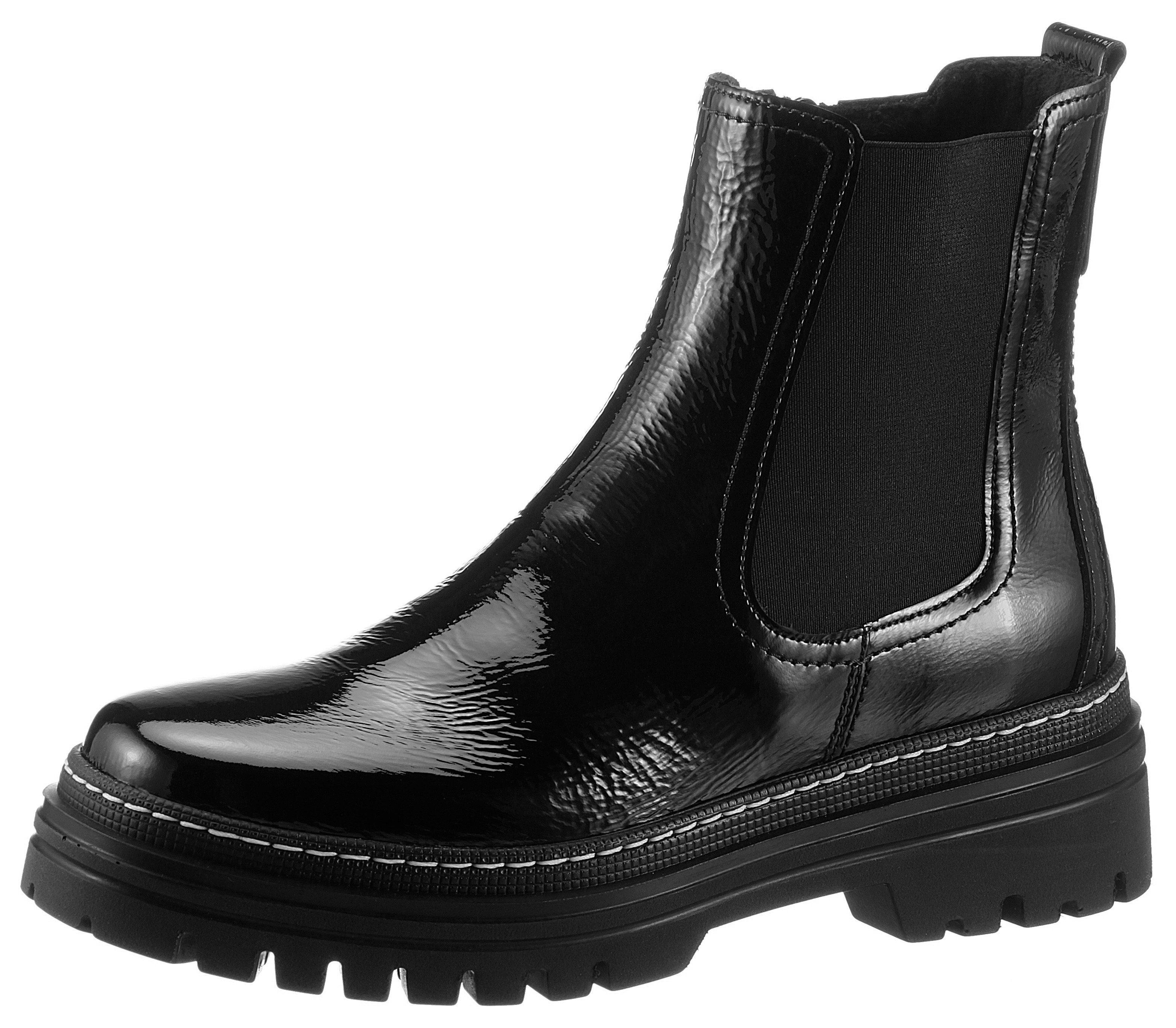 Gabor Chelsea-boots met contrasterende stiksels nu online bestellen