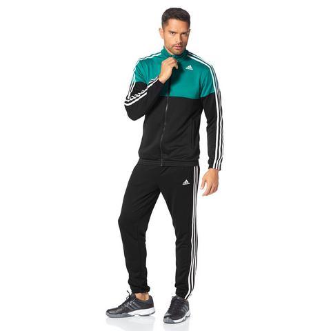 adidas Performance Trainingspak black/equate green/white