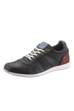Sneakers van leer