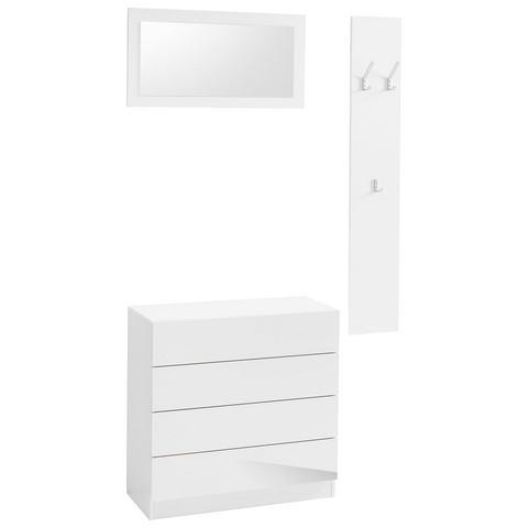 Complete garderobes Halmeubelset 3-delig Vaasa 3 454672