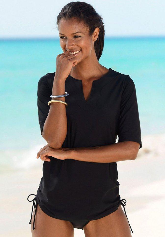 NU 20% KORTING: LASCANA Strand- en zwemshirt met tuniekhals