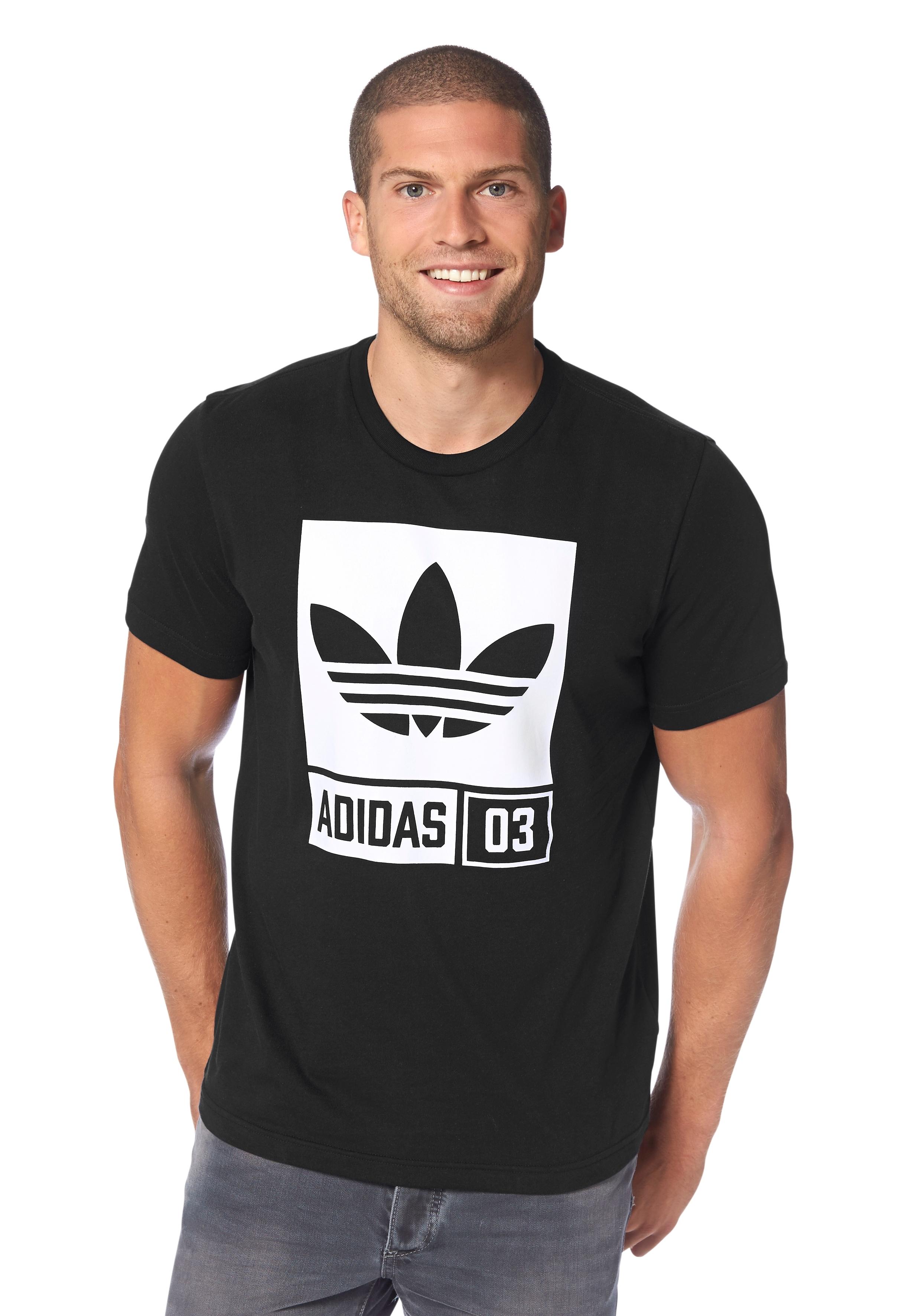 adidas Originals T-shirt met ronde hals nu online bestellen