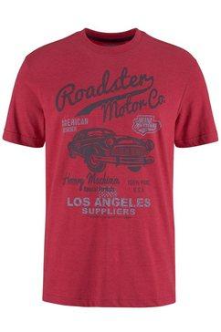 arizona t-shirt met grote frontprint rood
