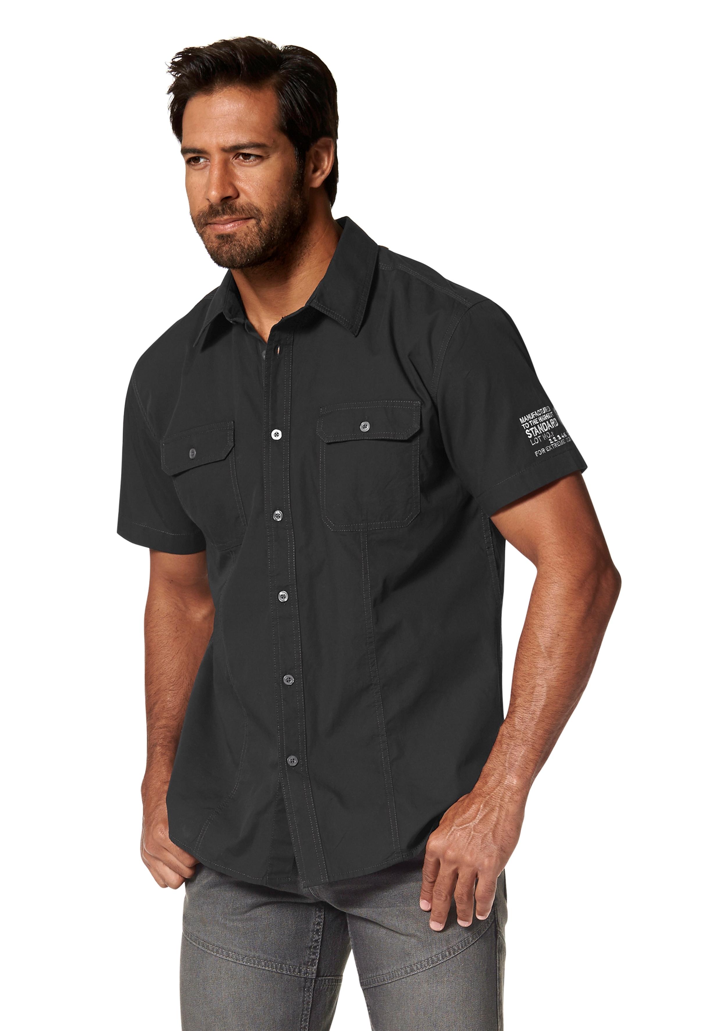 Korte Mouw Overhemd Mannen.Overhemd Met Korte Mouwen Online Kopen Bekijk Het Aanbod Otto