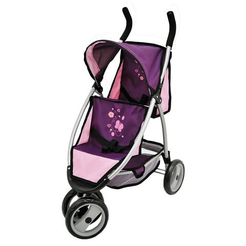 Bayer Poppenwagen Jogger Sport- Paars