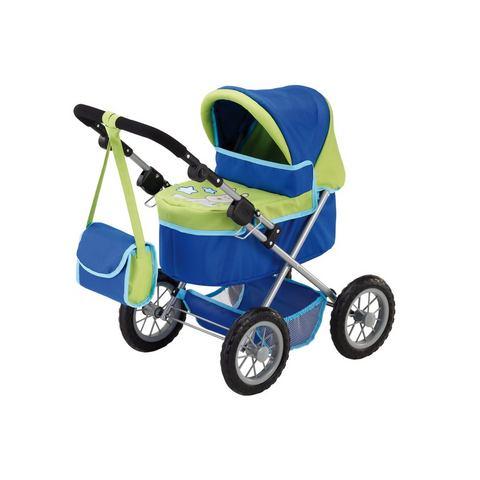 Bayer Poppenwagen Trendy - Groen/Blauw