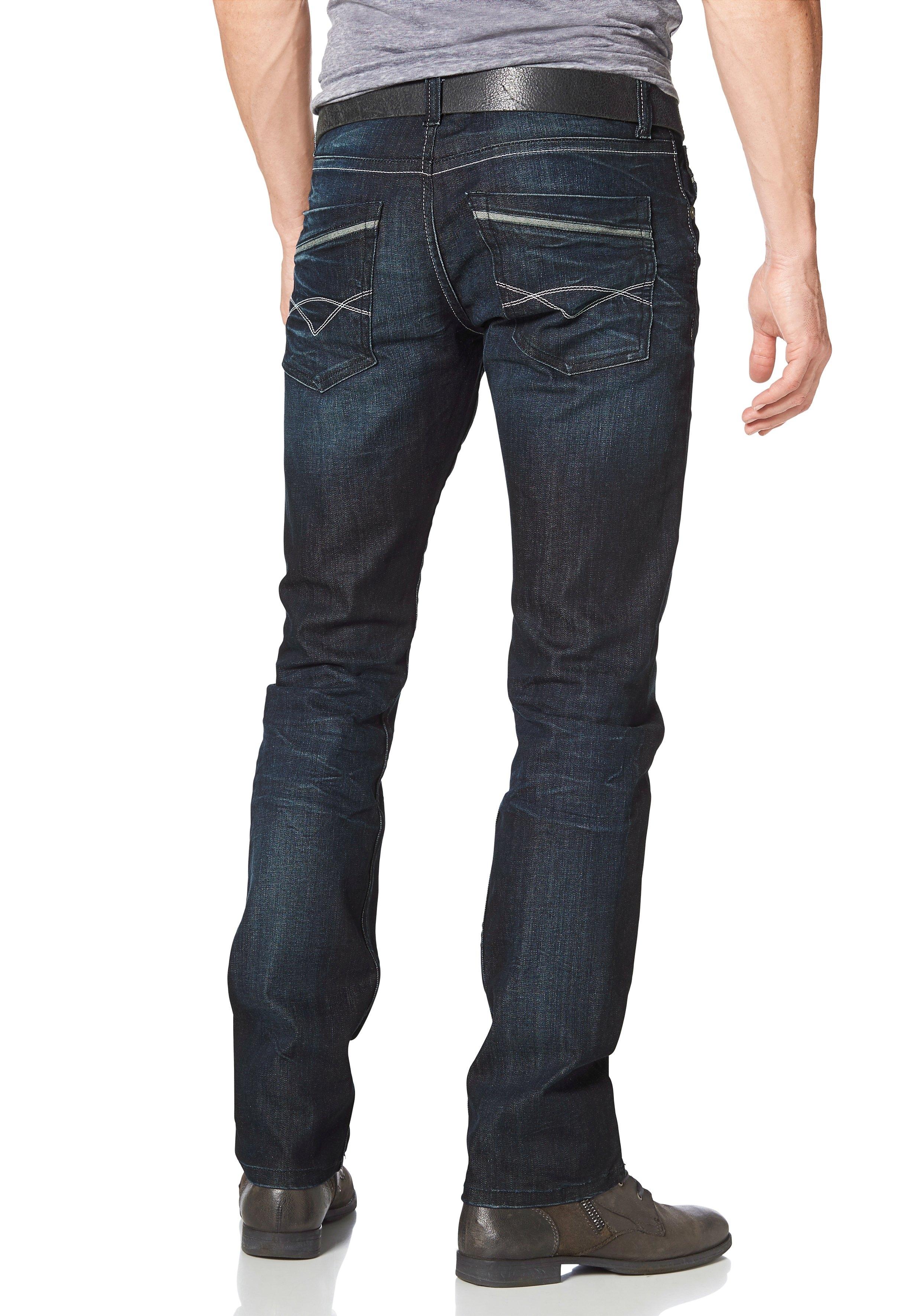 Bruno Banani straight jeans Dylan in de webshop van OTTO kopen