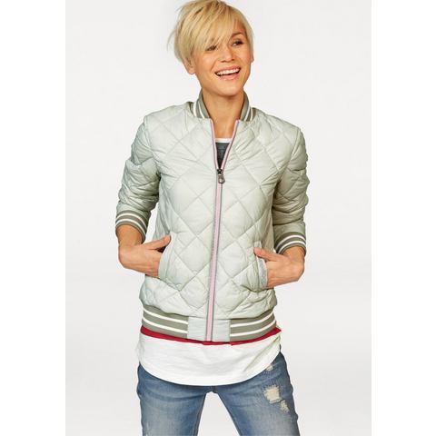 KANGAROOS Gewatteerde jas met staande kraag