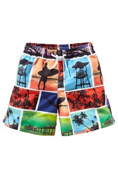 buffalo short met elastische band multicolor