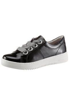 jana plateausneakers in schoenwijdte g ( wijd) zwart