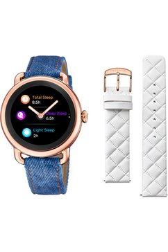 festina smartwatch »smartime, f50001-1« blauw