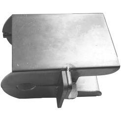 basi aanhangerdiefstalbeveiliging zilver