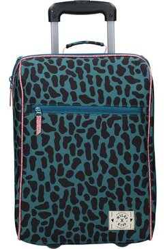 vadobag kinderkoffer milky kiss time to travel groen