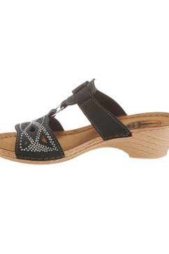 franken-schuhe slippers zwart
