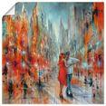 artland artprint »salsa« oranje