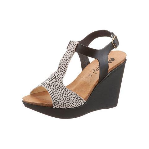 Schoen: BIOSTEP sandaaltjes in luipaard-look