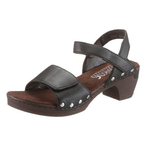 Dames schoen: RIEKER Sandaaltjes van leer