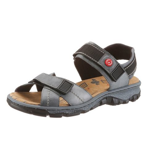 Dames schoen: RIEKER Trekking-sandalen van leer