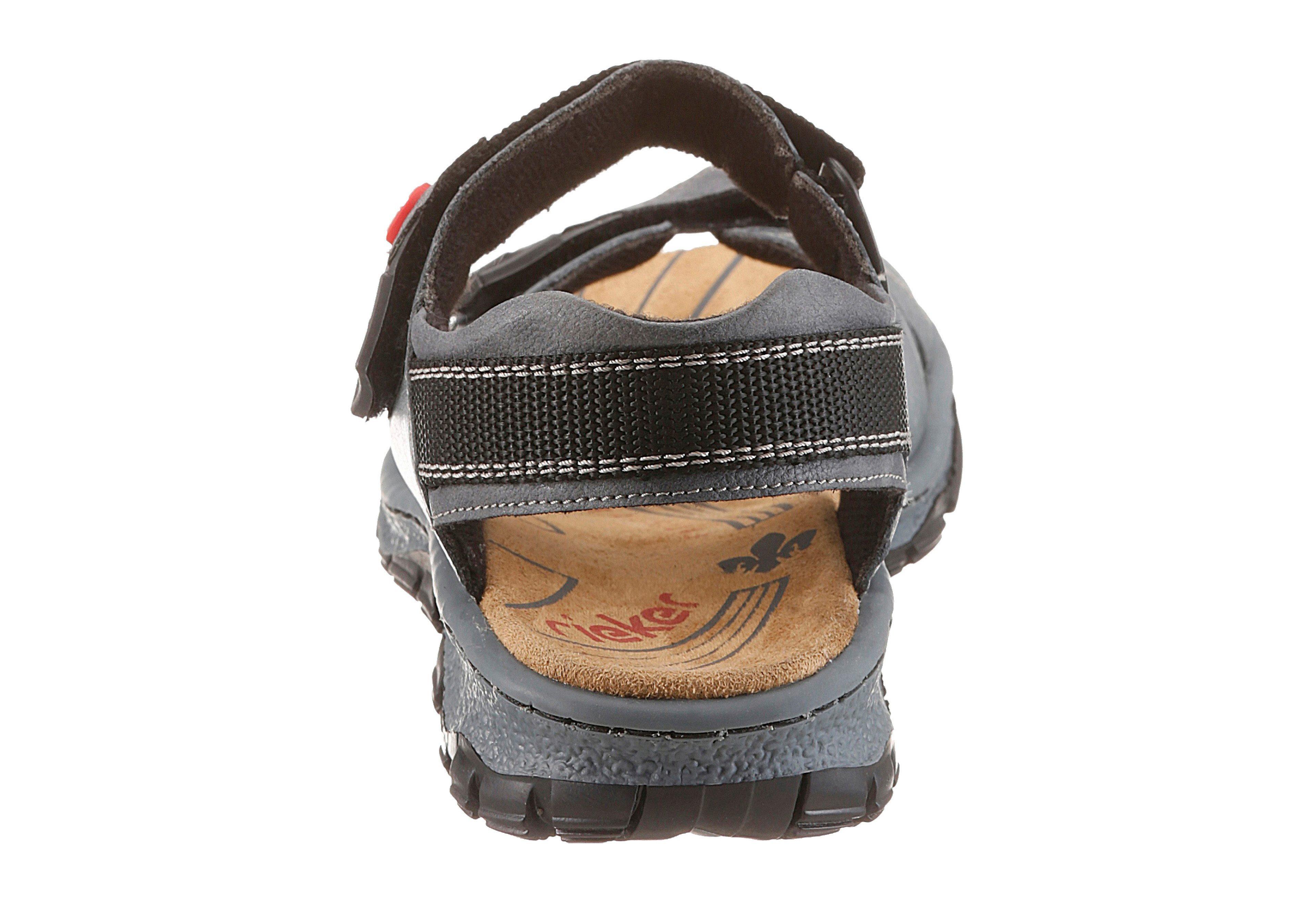 RIEKER Trekking sandalen van leer