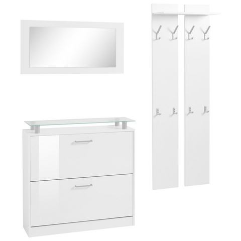 Complete garderobes Halmeubelen Finn in 3-delige set 824647